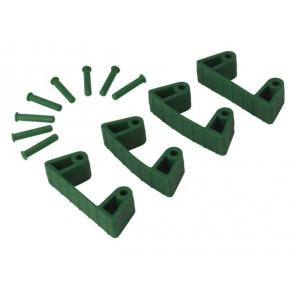 Zestaw klipsów gumowych do wieszaków 1017 i 1018, 4 sztuki, 120 mm, Vikan