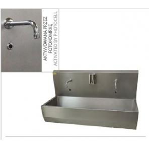 Bezdotykowa umywalka 2 - stanowiskowa  H132