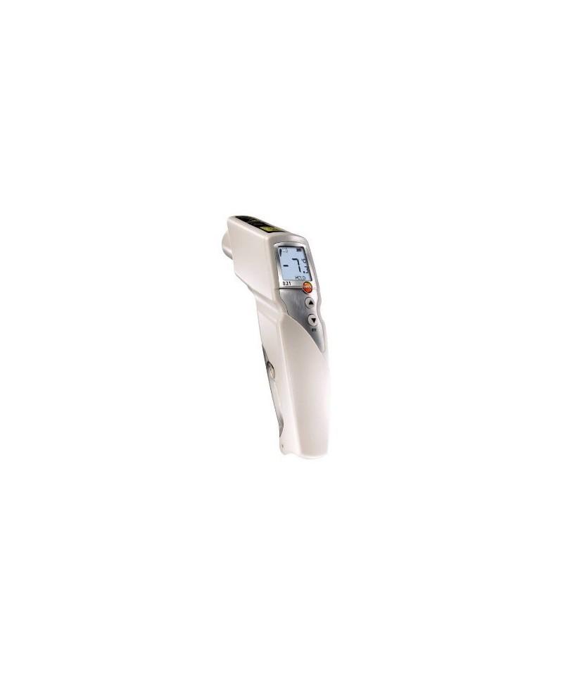 Testo 831 - pirometr z 2 - punktowym celwnikiem laserowym ( optyka 30 : 1 )