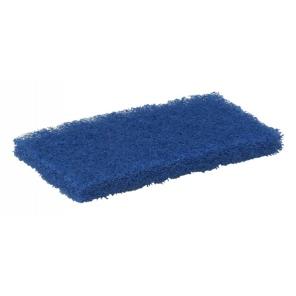 Vikan pad poliestrowy ,średni, niebieski 245mm.