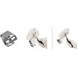 Steel mounting handle for...