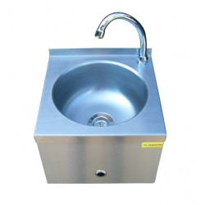 Bezdotykowa umywalka mini ze stali szlachetnej WH114