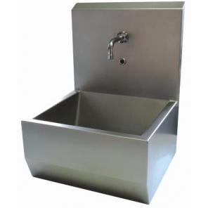 Umywalka kolanowa z panelem ze stali nierdzewnej WH121