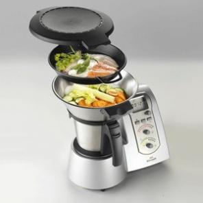 półprofesjonalny mikser / blender z funkcją gotowania i wagą