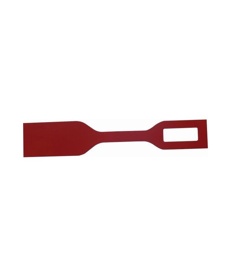 etykieta kolorowa czerwona