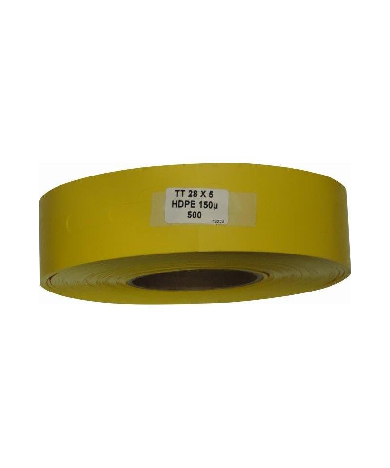 etykieta kolorowa żółty