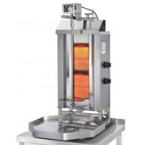 Opiekacz pionowy do 30 kg, gyros gazowy, kebab, grill, 7,0 kW, nierdzewny, POTIS GD2