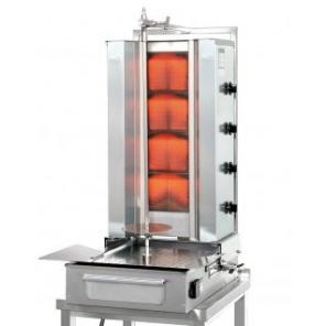 Opiekacz pionowy do 70 kg, gyros gazowy, kebab, grill, POTIS F GD4