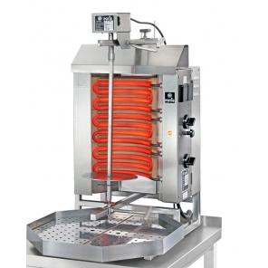 Opiekacz pionowy do 15 kg, gyros elektryczny, kebab, grill, 7,0 kW, nierdzewny, POTIS E1