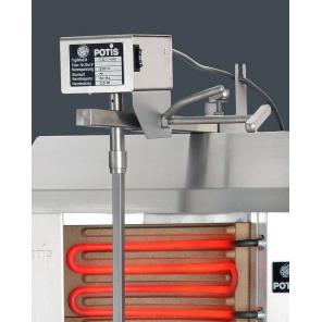 Opiekacz pionowy do 30 kg, gyros gazowy, kebab, grill,  POTIS E2