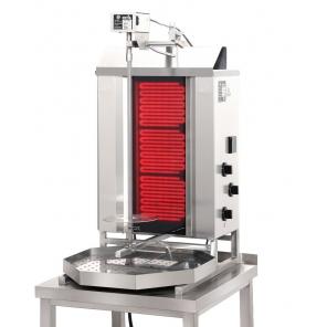 Opiekacz pionowy do 30 kg, gyros gazowy, kebab, grill, POTIS CE3