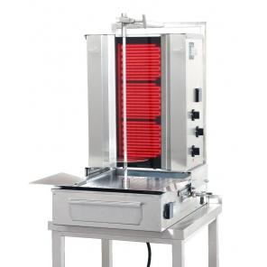 Opiekacz pionowy do 30 kg, gyros elektryczny, kebab, grill,  POTIS F CE3