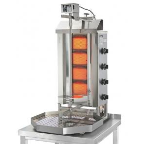 Opiekacz pionowy do 30 kg, gyros gazowy, kebab, grill, POTIS G2