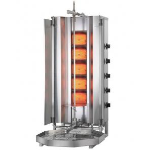 Opiekacz pionowy do 50 kg, gyros gazowy, kebab, grill, POTIS MU G3