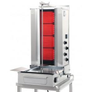 Opiekacz pionowy do 50 kg, gyros elektryczny, kebab, grill, 7,0 kW, nierdzewny, POTIS F CE4