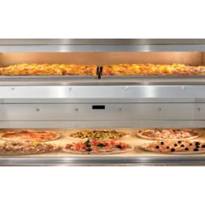 dwukomorowy piec do pizzy 105 x 70
