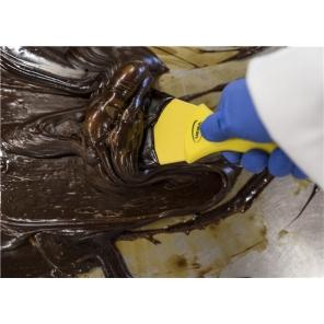 Skrobaczka z gwintowanym uchwytem 100 mm, nylonowa/ Skrobak 10 cm, rączka zakończona na gwint Vikan 4012