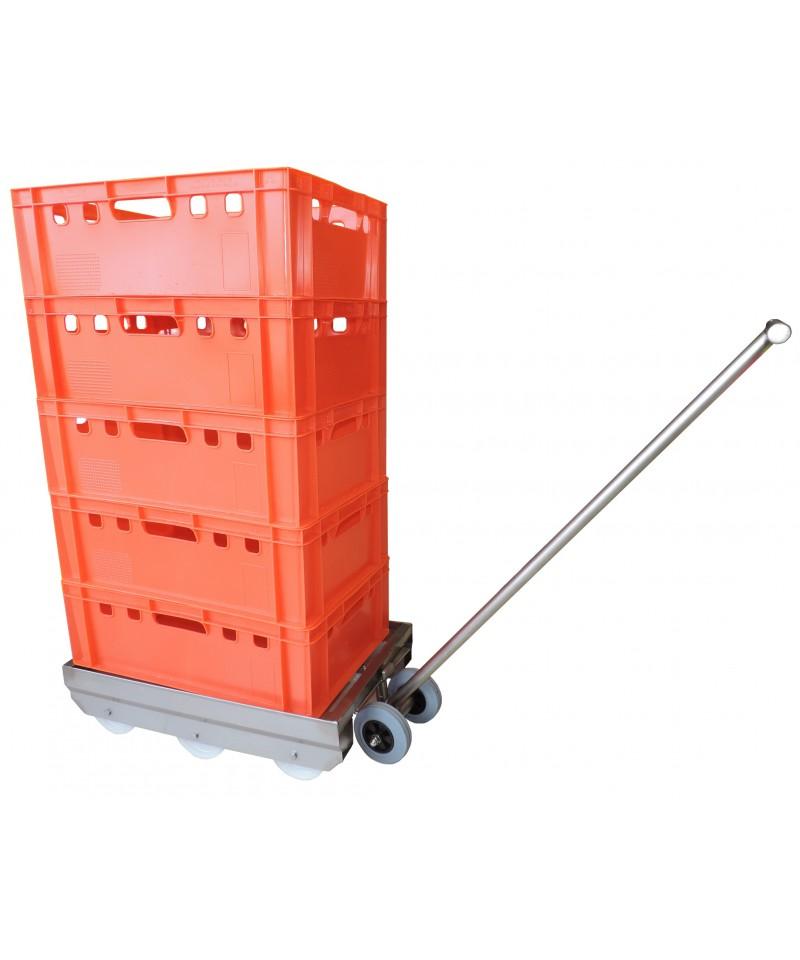 wózek do transportu pojemników WT72 wzmocniony