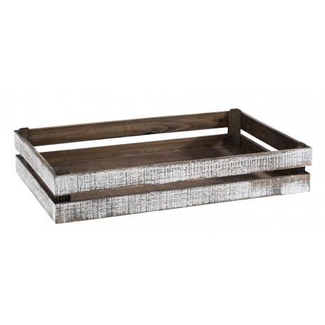 SUPER BOX  pojemnik drewniany GN 1/4  ,  Skrzynka drewniana ekspozycyjna