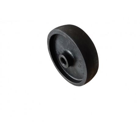Koło fi 16 cm z tworzywa czarne odporne na wysoką temperature