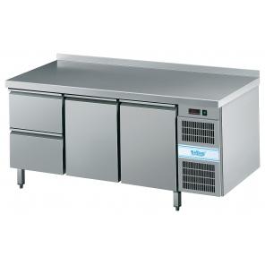 Stół chłodniczy KT Rilling GN 1/1, z blatem, z własnym chłodzeniem, AKT EK731 1601-2/1/1