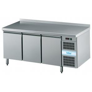 Stół chłodniczy piekarniczy EN 400x600 Rilling, z blatem stalowym,  AKT EK834 6601