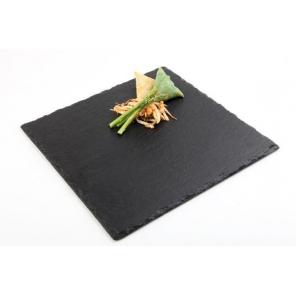 Taca łupkowa, płyta łupkowa, kwadratowa, wym. 25x25 cm, APS 00994