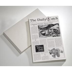 Papier tłuszczoodporny SNACKHOLDER z nadrukiem 42x25 cm, APS 40670