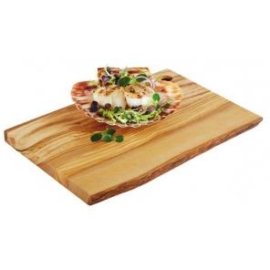 Deska do serwowania OLIVE z drewna oliwkowego 25x17 cm, APS 00870