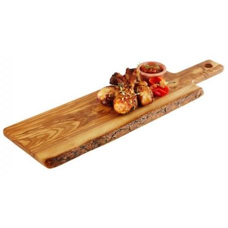Deska do serwowania OLIVE z drewna oliwkowego 40x50 cm, APS 00873