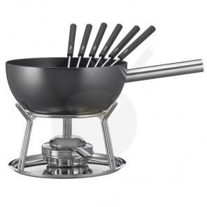 zestaw fondue czarny