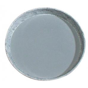 Taca RUTSCHFEST  ze wzmocnionego tworzywa sztucznego, owalna, szara 29 x 21 cm. APS 00507