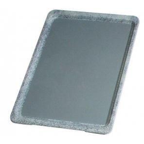 Taca RUTSCHFEST ze wzmocnionego tworzywa sztucznego, czarna 53 x 37 cm. APS 00503