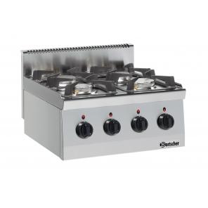 Kuchnia gazowa 600, szer.600 4PAL US Bartscher, Nr art.1317463