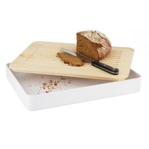 Deska drewniana prostokątna klon 43.5x32.5 cm, APS 09016