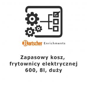 Kosz zapasowy, frytownicy elektrycznej 600, 8l, duży, Bartscher, Nr art.131419