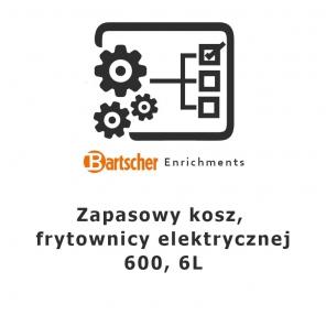 Kosz zapasowy, frytownicy elektrycznej 600, 6l Bartscher Nr art.131308