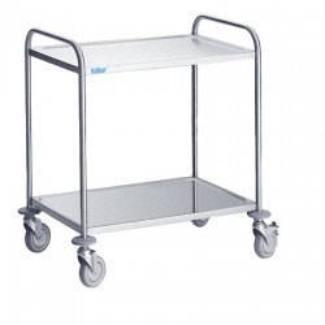 Wózek kelnerski z półkami, głębokość 600mm, Rilling, SW260900000