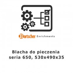 Blacha do pieczenia seria 650 Bartscher, 115805