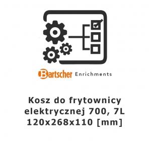 Kosz 7l do frytownicy elektrycznej 700, Bartscher, 286995