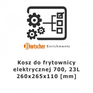 Kosz do frytownic 700 23l, Bartscher, 286998