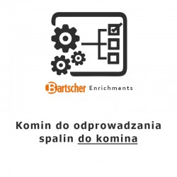 Komin do odprowadzania spalin do komina Bartscher, 285062