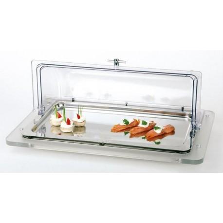 Witryna bufetowa TOP FRESH GN 1/1 5-częściowa - zestaw: taca 11100 + 2x wkład chłodzący 10779 + taca