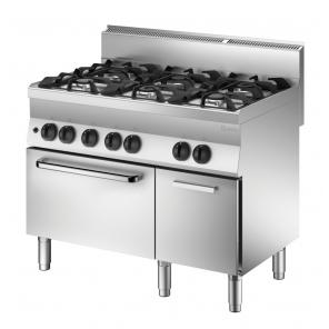 Kuchnia gazowa 650 Bartscher, szerokość 1100 4PAL PG Nr art.1151163