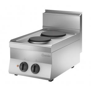 Kuchnia elektryczna 650 Bartscher, szer. 400 2PL, US Nr art.115005