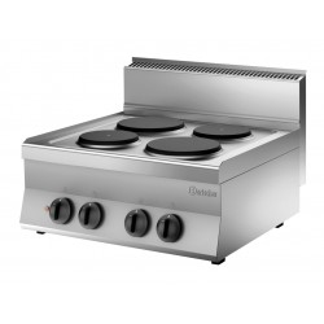 Kuchnia elektryczna 650 Bartscher, szer. 700 4PL, US Nr art.115007