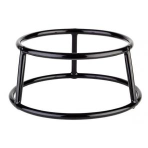 Stojak bufetowy MULTI ROUND z metalu czarny 8 cm, APS 33269