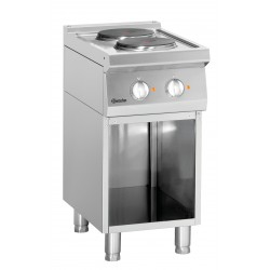 Kuchnia elektryczna 700, szer. 400 2PL, PO Bartscher Nr art.286102