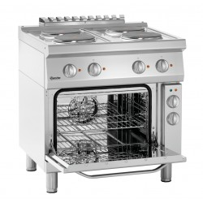Kuchnia elektryczna 700, B800, 4PL, EBO Bartscher Nr art.286225