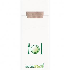 Organiczna torba na sztućce   papier 30620